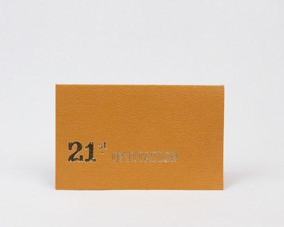 Vintage Invitations 21st Birthday