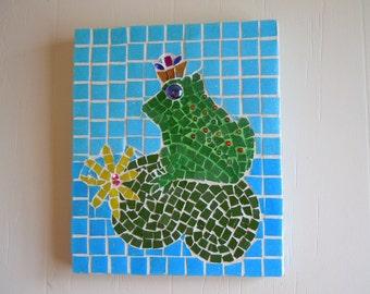 Charming Prince Frog Mosaic