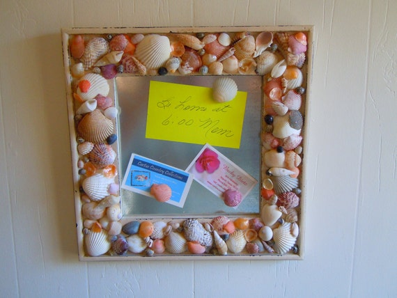 Sea Shell Magnetic Card Holder