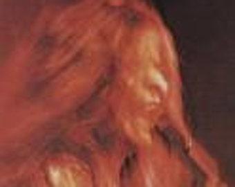 Janis Joplin Vinyl Record - Original - I ve got dem old Kozmic blues again Vinyl - Vintage  Record Lp in Very Good Plus Condition