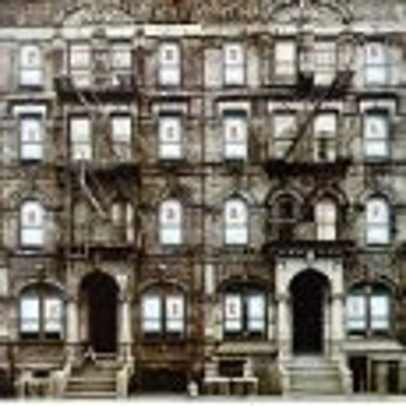 Vinyl  on Sale - Led Zeppelin -  Physical Grafitti - Original First Edition - A Double Album Set - 3 vinyls for only 20 bucks