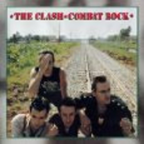 On HOld for Anytime - The Clash - Combat Rock - Vintage Vinyl record LP in Excellent Condition