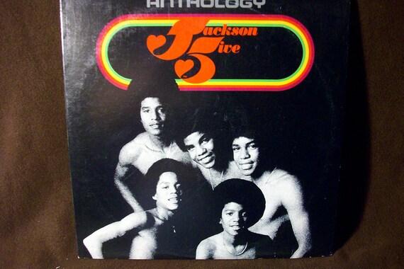 The Jackson Five - Anthology - Triple Record Set -  Vintage Vinyl record LP in Near Mint Condition