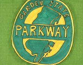 Garden State Parkway-5x7 inch print from Original Illustration