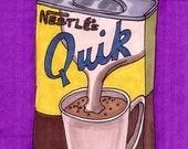 Quik-5x7 inch print from Original Illustration