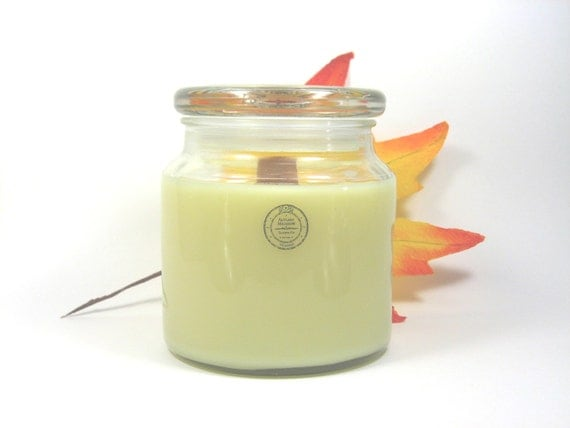 LEMONGRASS - SOY CANDLE - WOOD WICK