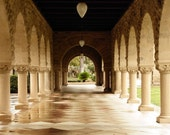Arched Walkway : stanford university school college graduation palo alto marble stone plaza 8x10 11x14 16x20 20x24 24x30