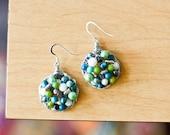 Spring mosaic Earrings