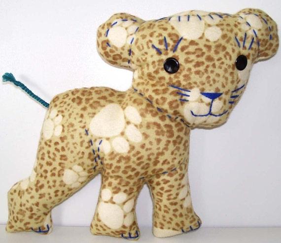 Retro-Pets Leopard cub