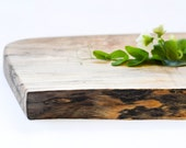 Farmhouse Cutting Board, Natural Edge Salvaged Wood 649, Ready to Ship