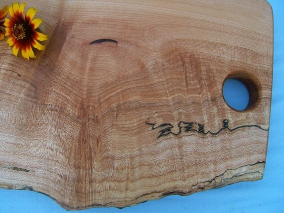 Natural Doodle Cutting Board 127