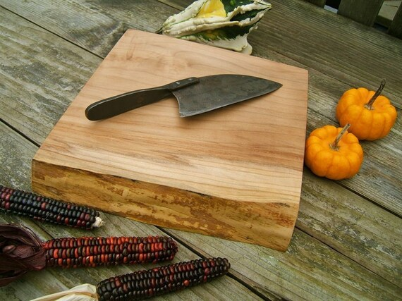 Extra Thick, Natural Edge Cutting Board 218
