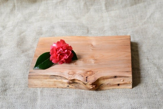 Cheese Board, Cutting Board, Natural Edge Salvaged Wood 620