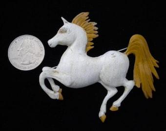 White Horse Novelty Pin