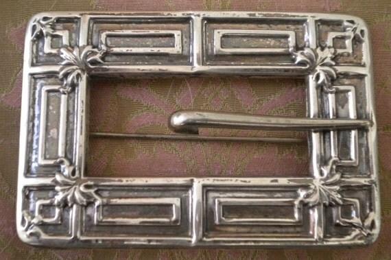 Sterling Silver Art Nouveau Pin