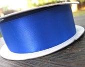 Royal blue Double saitn 1.5 inch ribbon