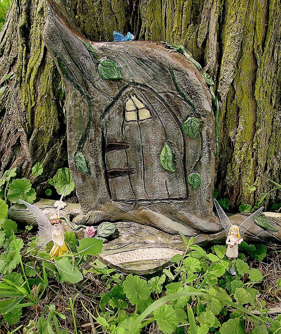 Magical fairy door ready to ship today for Fairy front door