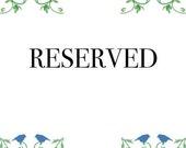Reserved for Osier