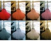 Extra Full Classic 50's 6-Tier Crinoline, Wedding Petticoat, Full Length - 32 inches or longer