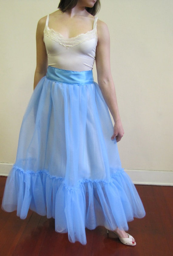 Something Blue - Here Comes the Bride Petticoat - Ready to Ship