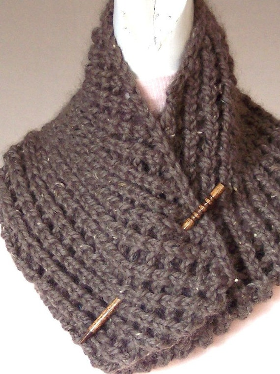 Hand Knitted Baby Alpaca Cowl