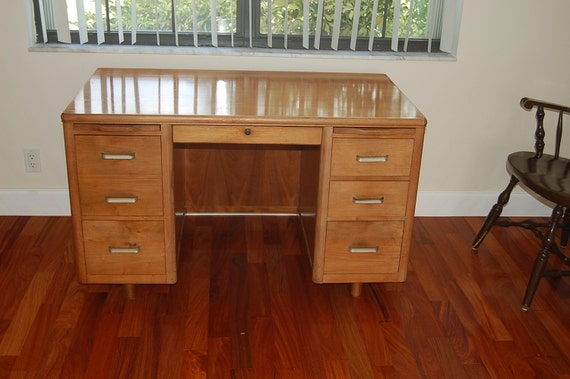 Reserved For Christie Mid Century Modern Leopold Solid Wood