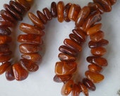 Vintage Russian Old Baltic Natural Amber Strand