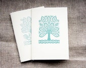 teal tree notebook, A6 ,4x6, set of 2, handy, sketchbook, journal, jotter, notepad, mint, blue, aqua, white, cream, cyan, blank, mini