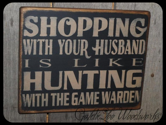 Primitive, Folk Art ,Shopping Wall Sign