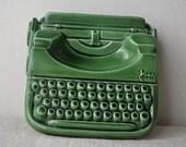 Vintage French Cendrier - Typewriter - Japy