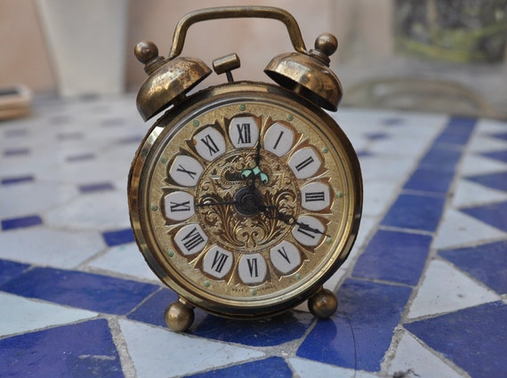 Tiny Alarm Clock - Decor Only