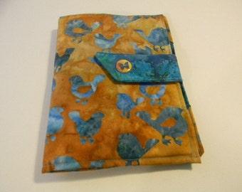 Bird Batik iPad Mini, Nook Color, Nook Tablet Cover