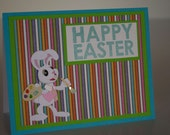 Easter Card- Artist Bunny