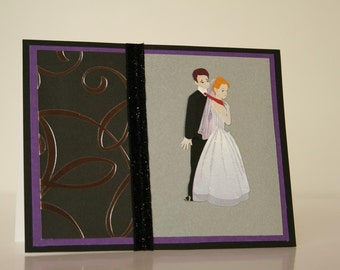Wedding Card-  Funny Couple 2