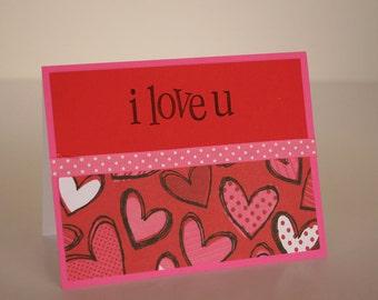 Valentine's Day Card- I Love U