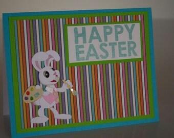 Easter Card- Artist Bunny