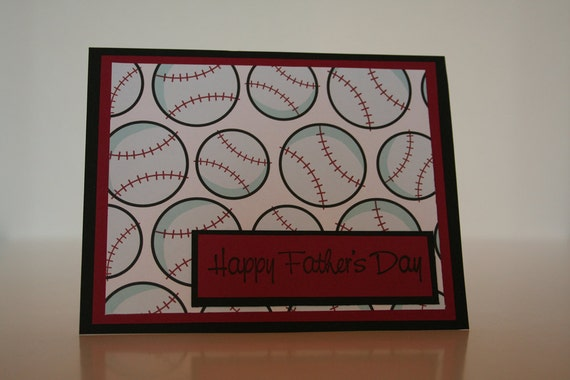 Father's Day Card- Baseball