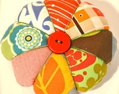 large patchwork pincushion