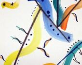 Nombre de rêves aquarelle 22 (oiseaux)