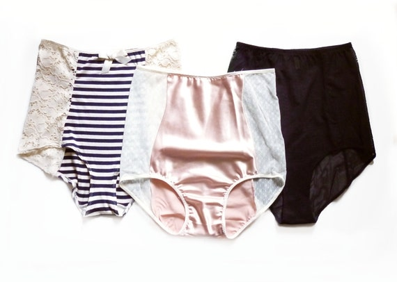 3 for Eighty Dollars Ohhh Lulu High Waist Panties Made to Order
