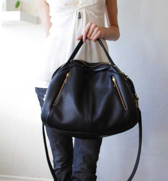 OPELLE Botanist Bag - Spring 2011 in Pebbled Leather - Made to Order