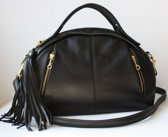 RESRERVED for D - Soft Leather purse OPELLE Baby Botanist Bag - in Pebbled Leather NEW Spring 2011
