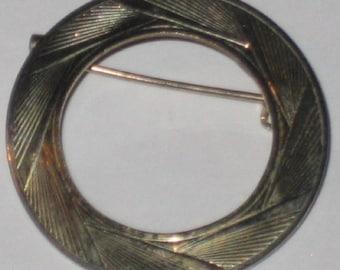 Vintage Circle Pin
