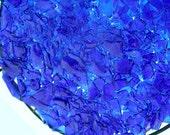 Blue Broken Bottle Platter