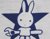 Earth First Bunny Patch - Green, Black, or Purple on White - wrench, monkeywrench, protest, spanner, anarchy star, forest, punk patches