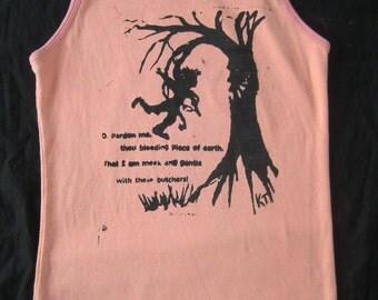 Tank Top, Angry Tree Shakespeare and Henry David Thoreau Simplify quote, Medium