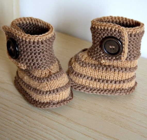 free baby bootees knitting pattern pdf