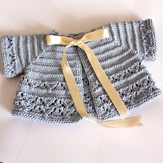 baby cardigan knit pattern