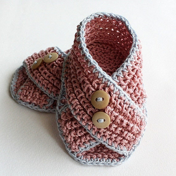 Knitting Pattern Baby Sandals : Knitting Pattern PDF file Baby Sandals Piccolini for sizes