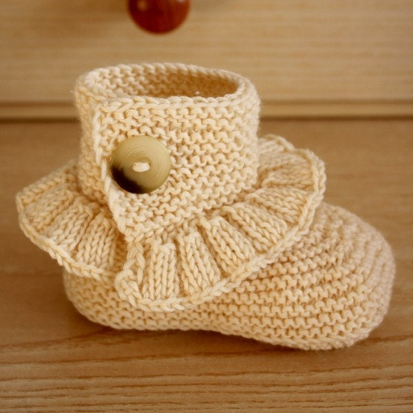 Knitting Patterns Step By Step : Knitting Pattern PDF file Step by Step Toddler Boots 18